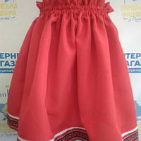 """Спідничка для дівчинки тканим орнаментом """"Україночка"""""""