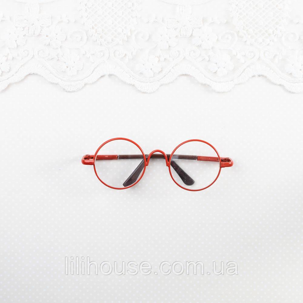 Очки для Кукол и Игрушек 8*2.8 см КРАСНЫЕ