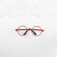Очки для Кукол и Игрушек 8*2.8 см КРАСНЫЕ, фото 1