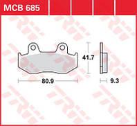 Тормозные колодки задние SUZUKI AN 250/400 Burgman TRW / LUCAS MCB685