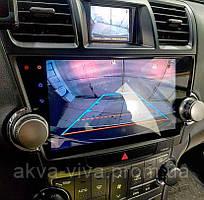 Штатная автомагнитола Toyota Highlander 2011-2014 на Android с хорошей звуковой настройкой
