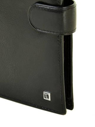 Кошелек Softina кожа BRETTON MS-40 black, фото 2