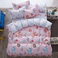 Комплект постельного белья Счастливый лес (двуспальный-евро) Berni