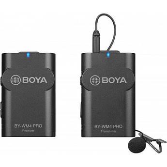 Петличный микрофон Boya BY-WM4 PRO (PRO-K1) - радиомикрофон (беспроводная микрофонная система)