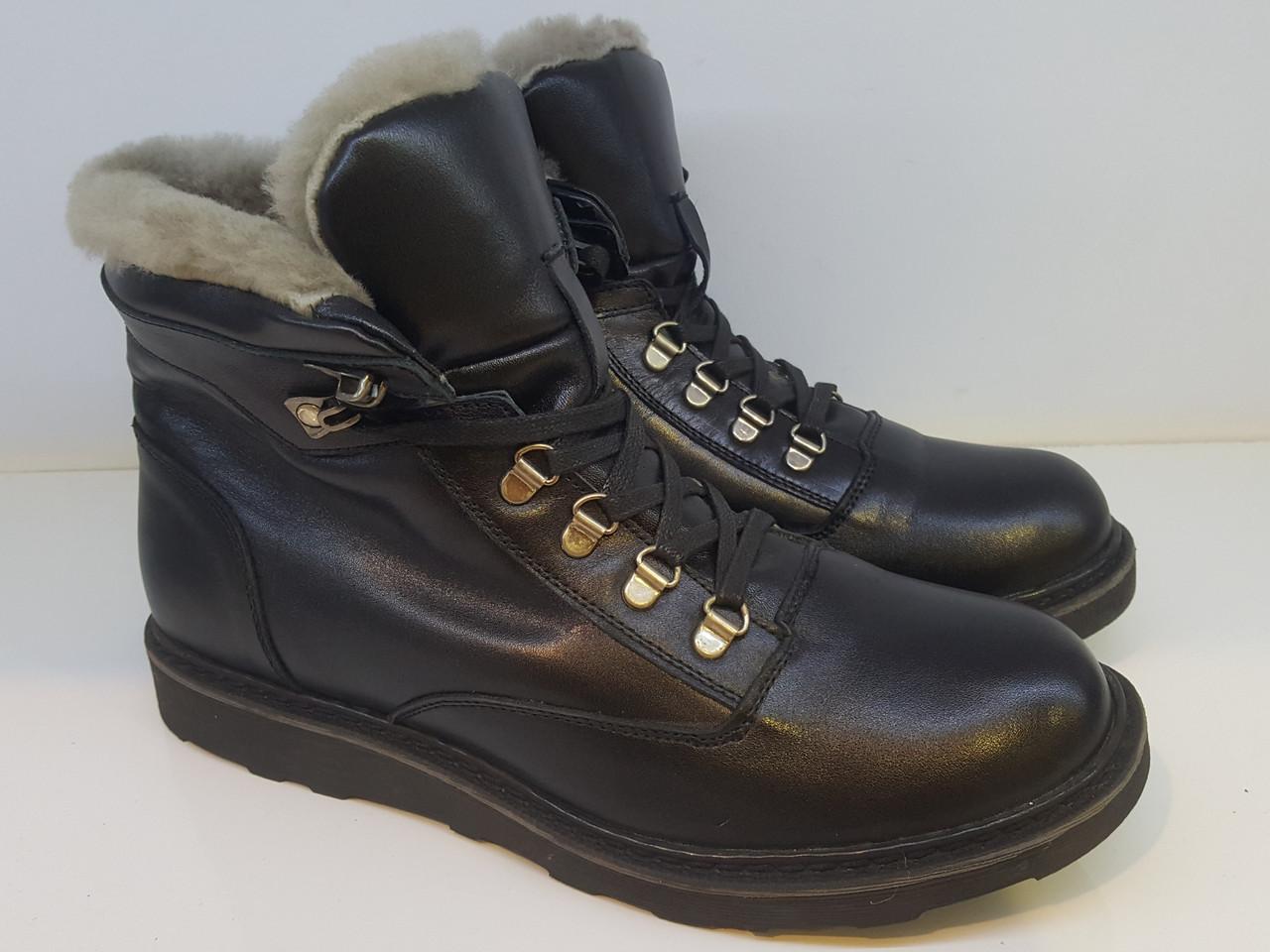 Ботинки Etor 7999-4487 42 черные