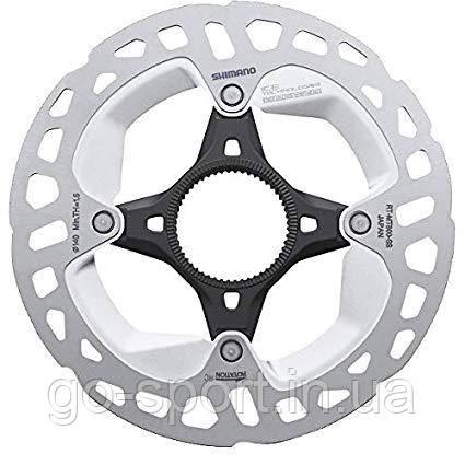 Тормозной ротор Shimano XT RT-MT800 Center Lock Ice-Tech Freeza 140 мм