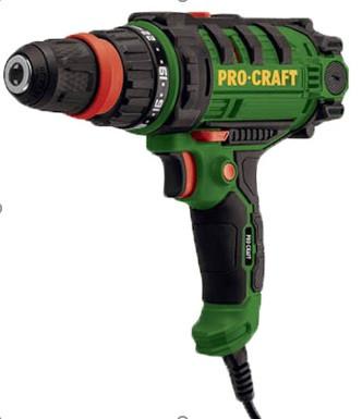 Шуруповерт мережевий ProCraft PB-1150 DFR 2-швидкості. Шуруповерт ПРОКрафт