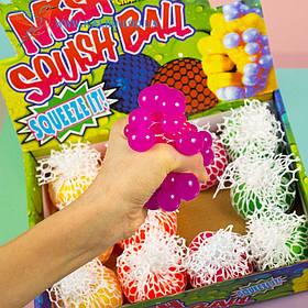 Іграшка антистрес Мізки в білій сітці