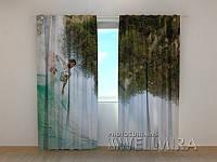 """Фото штора """"Серфинг"""" (2,5м*1,6м, тесьма)"""