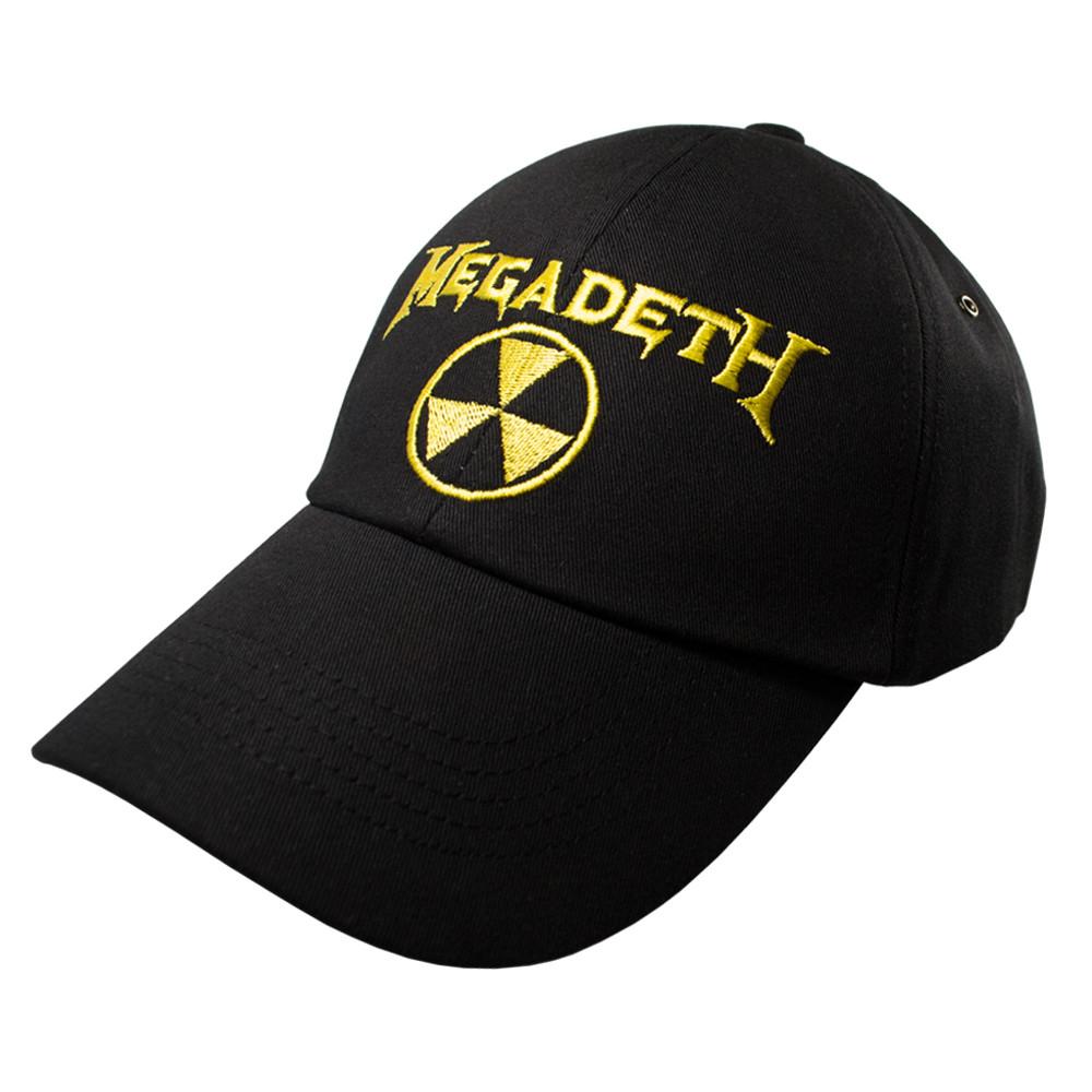 Бейсболка MEGADETH Radioactive