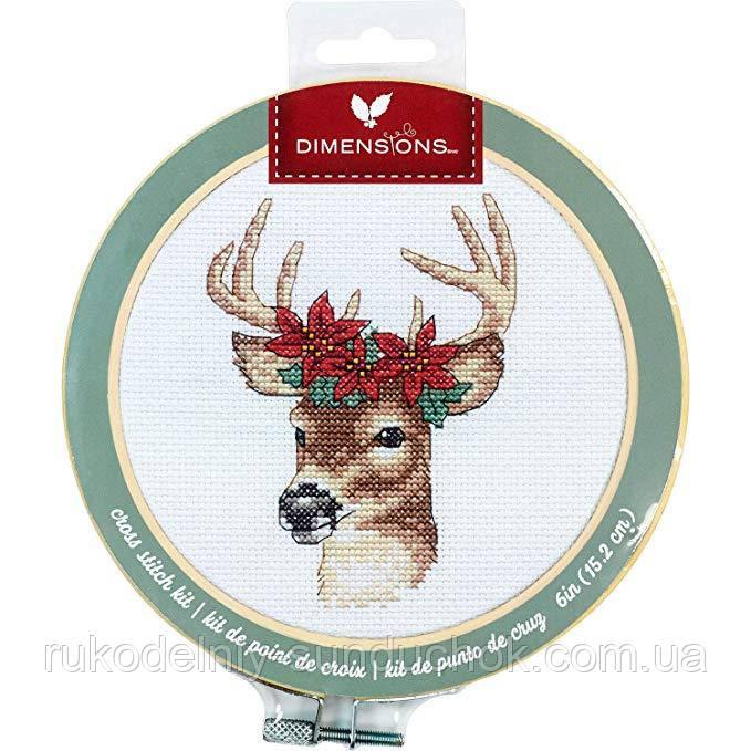 Набір для вишивання Dimensions Deer//Олень 72-76040