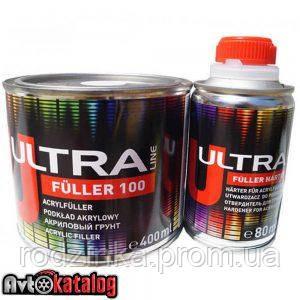 ULTRA LINE FULLER 100 акриловий грунт сірий 5+1 - 0,40 л