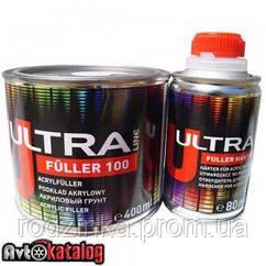 ULTRA LINE FULLER 100 акриловый грунт черный 5+1 - 0,40 л