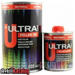 ULTRA LINE FULLER 100 акриловий грунт чорний 5+1 - 0,80 л