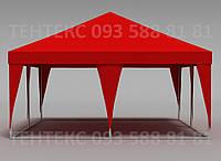"""Торговый шатер """"Пирамида 5х5"""" Красный, фото 1"""