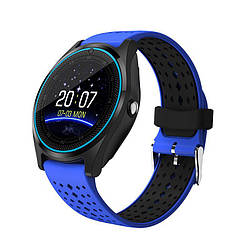 Умные часы Smart Smart Watch V9 Blue SWV9B, КОД: 148818