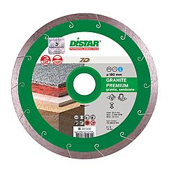Круг алмазный отрезной Distar 1A1R 200x1,8x10x25,4 Granite Premium (11320061015)