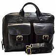 Кожаная мужская деловая сумка Tony Bellucci, фото 2