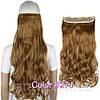 Волосы на заколках, тресс волнистые 60 см, волосы накладные, фото 8