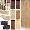 Волосы на заколках, тресс волнистые 60 см, волосы накладные, фото 2