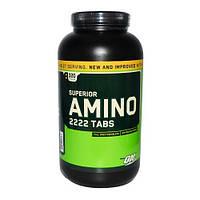 Superior Amino 2222 Tabs (320 табл.) Optimum Nutrition