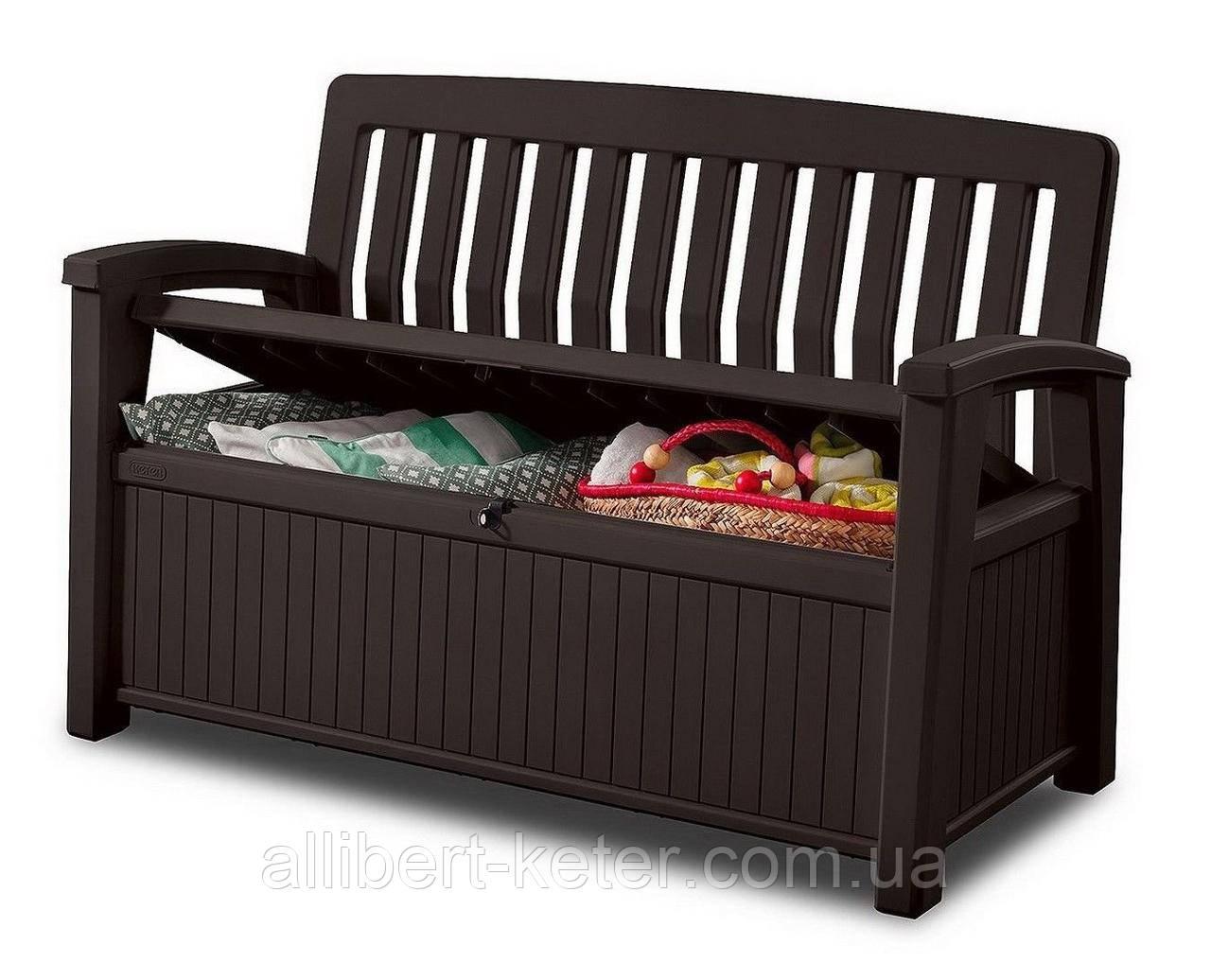 Скамья-сундук Keter Patio Storage Bench 227 L