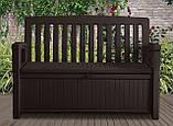 Скамья-сундук Keter Patio Storage Bench 227 L, фото 3