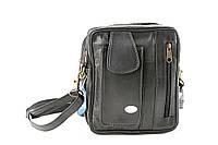 Повседневная удобная сумка из натуральной кожи SWAN, фото 1