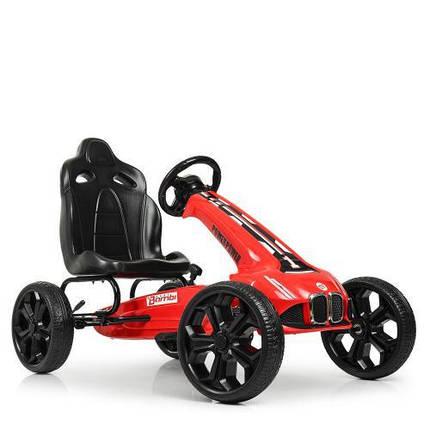 Спортивный карт для ребенка Bambi M 5393E-3 колеса EVA красный, фото 2