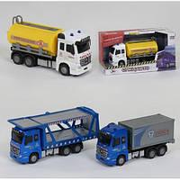 Інерційний трейлер Truck 6690: розмір 16см (світло + звук)