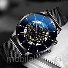 Мужские часы SOXY 1753 Black Gold