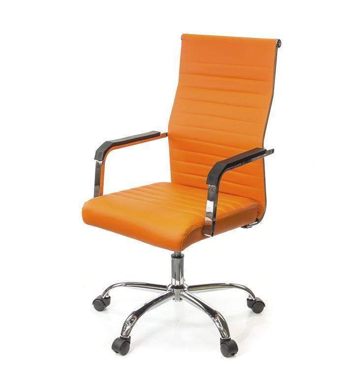 Кресло офисное АКЛАС Кап FX СН TILT оранжевое