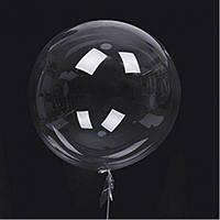 "Шарик Bubble 24"" Прозрачный"