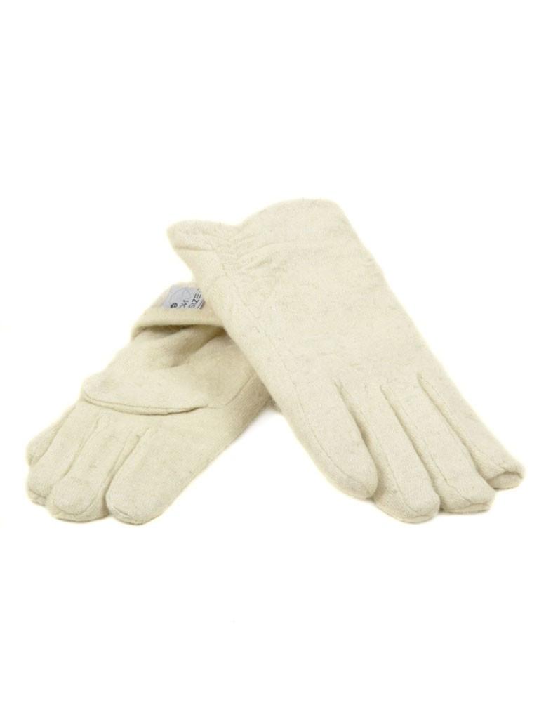 Перчатка Женская кашемир (ПЛ) F12/1 мод3 беж Распродажа