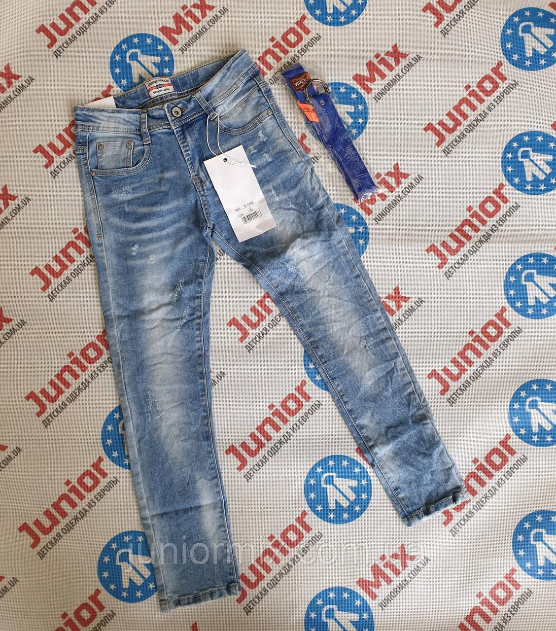 Подростковые джинсы для мальчиков оптом  ИТАЛИЯ