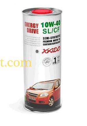 Масло автомобильное 1л   (полусинтетика, 10W-40SL/SF, Atomic Oil, Energy Drive)   (24144)   ХАДО, фото 2