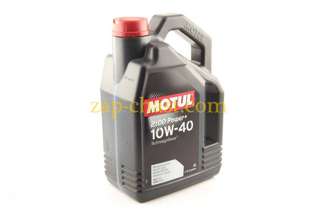 Масло автомобильное 4л   (полусинтетика, 10W-40, 2100 Power+)   MOTUL   (100017), фото 2