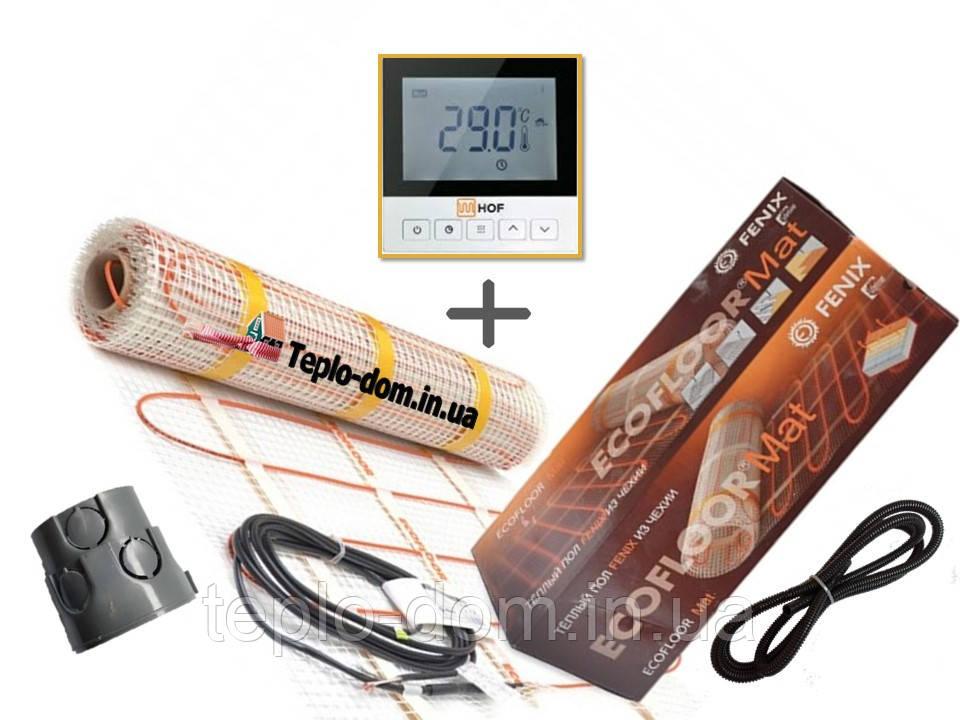 Нагревательный мат Fenix LDTS 12260 ( 1.6 м2 )  с програматором HOF 920 Премиум ( Р )