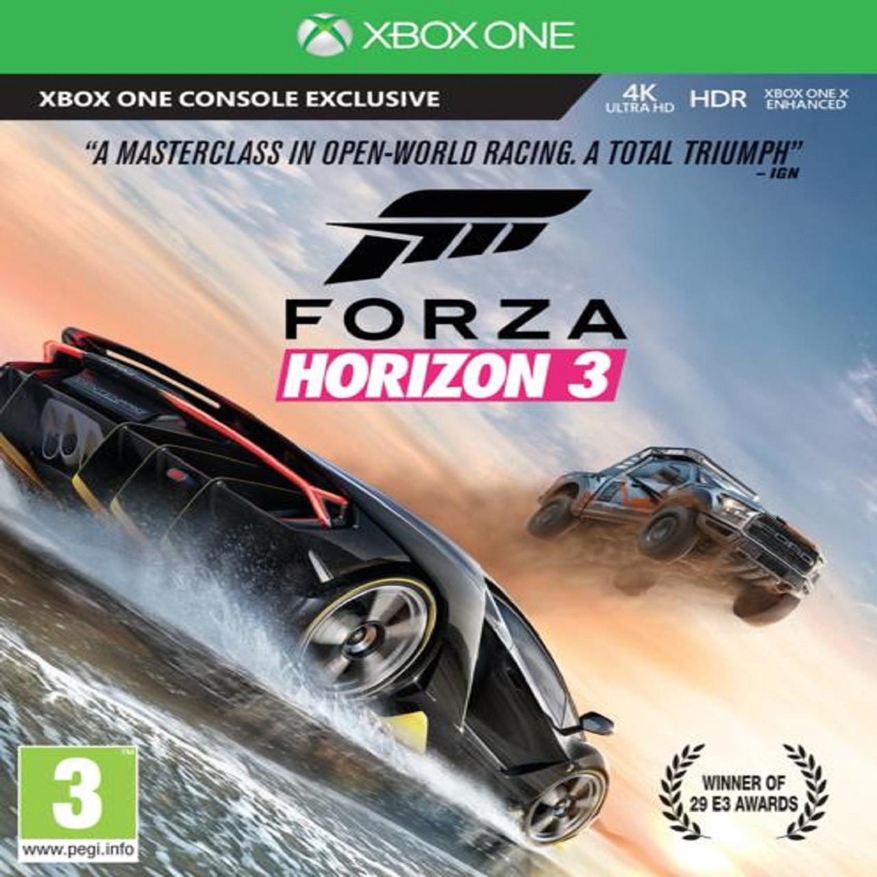 Forza Horizon 3 RUS XBOX ONE (Код)