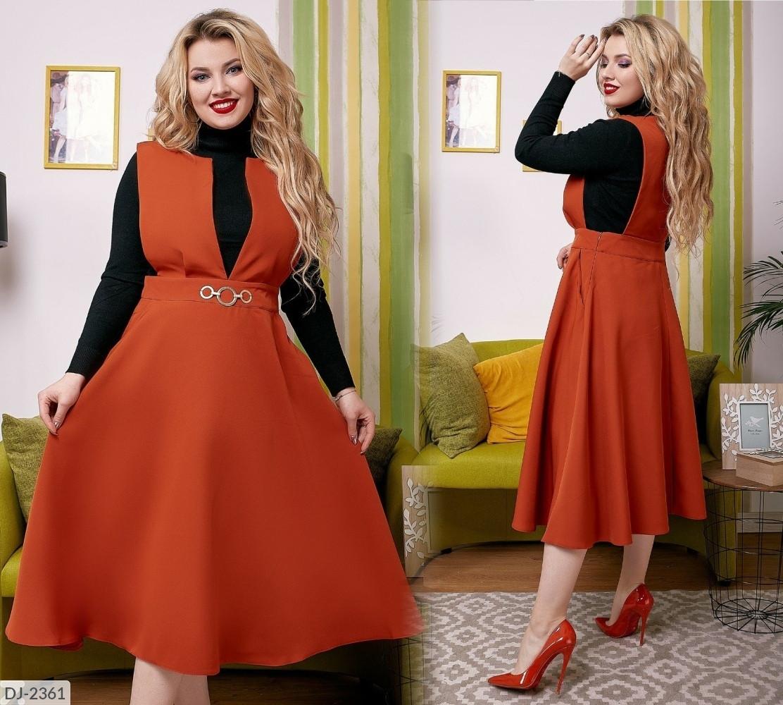 Женское платье   (размеры 48-58) 0230-59