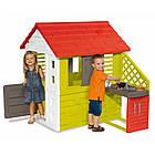 Детский игровой домик Smoby 810713 с летней кухней для детей, фото 2