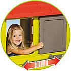 Детский игровой домик Smoby 810713 с летней кухней для детей, фото 3