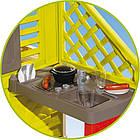 Детский игровой домик Smoby 810713 с летней кухней для детей, фото 4