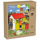 Детский игровой домик Smoby 810713 с летней кухней для детей, фото 6