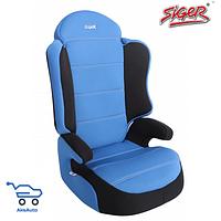 Детское авт. кресло SIGER  СПОРТ груп.2-3(синий)