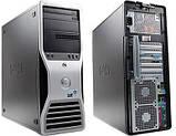 Dell Precision t3500 4 ядра 8 потоков Xeon W3530 2.8-3.06, 12 ГБ DDR3, 500 ГБ HDD, Quadro 2000 1 gb DDR5, фото 2