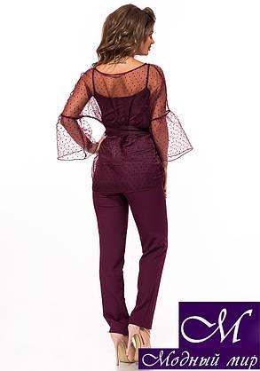 Женский брючный костюм тройка (р. 42, 44, 46, 48) арт. 26-946, фото 2