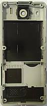 Корпус для Sony Ericsson T650 Silver-Green, фото 3