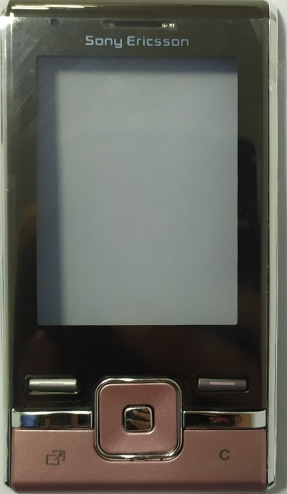 Корпус для Sony Ericsson T715, Rose