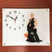 Часы с изображением людей 510х400 мм